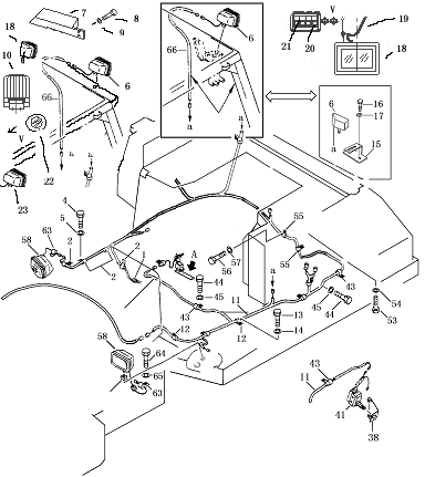Ford Backhoe Wiring Diagram likewise Caterpillar D3 Wiring Harness furthermore Funk Transmission Parts Diagram likewise Bobcat 331 Fuse Box likewise Cadillac 500 Engine Specifications. on wiring harness komatsu
